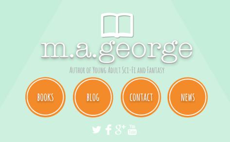 Website homepage snapshot